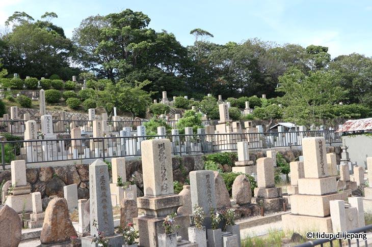 obon di jepang kuburan