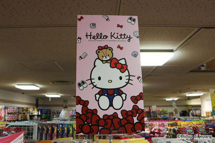 hello kitty daiso japan